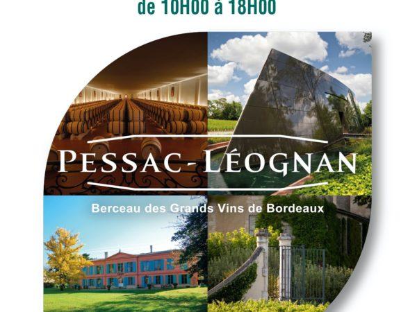 Affiche Portes Ouvertes 2020 - Château Carbonnieux