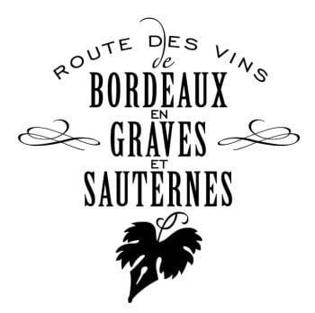 Logo route des vins graves et sauternes